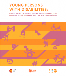 Book cover : YOUNG PERSONS WITH DISABILITIES